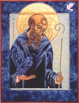 St Benedict image